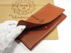 ターリー・ワサーチ 本革長財布04黄土色 しなやか 厚くないので使いやすい