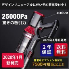 掃除機 コードレス 超吸引力 25000Pa スティック サイクロン クリーナー 充電式 22.2V RS-006