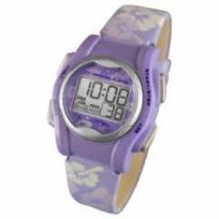 自立コム 振動腕時計 バイブラライトMini 紫花柄 VM-LPL