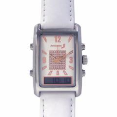 自立コム 振動腕時計 バイブラクオーツJ パールホワイト VQ500JWL