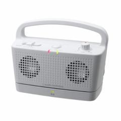 自立コム テレビ増幅器 サウンドアシスト ホワイト AT-SP767TVWH
