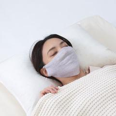 富士パックス シルク混の縫い目がないおやすみマスク