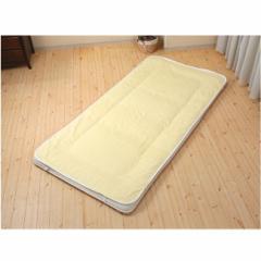 富士パックス 三河木綿使用 クールでドライな 清涼ガーゼ敷パッド WAYOベルト シングル 100×200cm