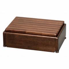 アロン化成 木製玄関台 S45W-30-1段 ブラウン 535570