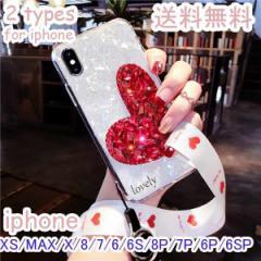 big_acスマホケース 多機種 iphone6/6s 7 8 6P 7P 8p X XR XS MAX カバー おしゃれ ハート