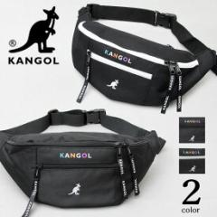KANGOL カンゴール ウエストポーチ ウエストバッグ ミニバッグ ボディバッグ ヒップバッグ バッグ サブバッグ 鞄 春 夏秋 冬 アウトドア