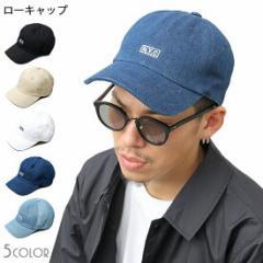 キャップ 帽子 ローキャップ 刺繍 N.Y.C ロゴ メンズ レディース デニム ブラック 黒 ホワイト 白