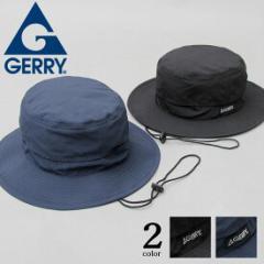 ハット 帽子 GERRY ジェリー アドベンチャーハット メンズ レディース 軽量 折り畳み 速乾 アウトドア フェス スポーツ ランニング ブラ