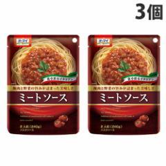 日本製粉 オーマイ ミートソース240g×3個
