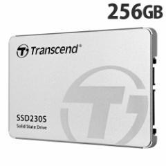 トランセンド SSD 256GB SATA-III 3D TLC搭載 2.5インチ アルミ筐体 TS256GSSD230S 【送料無料(一部地域除く)】