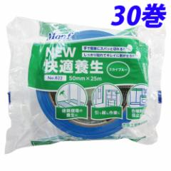 Monf NEW快適養生 スカイブルー 30巻 養生テープ 【送料無料(一部地域除く)】