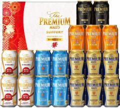 お歳暮 御歳暮 ギフト ビール プレゼント 飲み比べ 送料無料 サントリー プレミアムモルツ -華- 冬の限定5種セット YB50P 1セット 詰め合