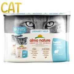 最短賞味2022.5・アルモネイチャー 猫 ユリナリーサポート フィッシュ、チキン マルチパック(alc5296×3、alc5297×3)alc529697正規品