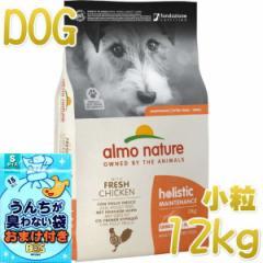 NEW 最短賞味2022.2・アルモネイチャー 犬 チキン 小粒 12kg ald724成犬用ホリスティック ドッグフードalmo nature正規品