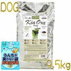 おまけ付き!最短賞味2022.2.26・キアオラ ビーフ&レバー 9.5kg 全年齢犬用ドライ グレインフリー ドッグフード KiaOra 正規品 kia20145