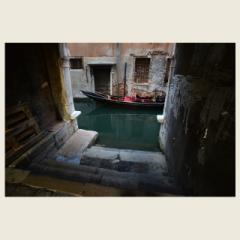 「ゴンドラの休息/La gondola sta riposando」 限定制作プリント (エディションナンバー付き)※A4プリントのみ/額なし