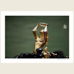 「空へ・・、ゴンドラの女神」 ショップオープン企画!2Lプリントの2枚組! 4月25日まで、限定20組の販売。
