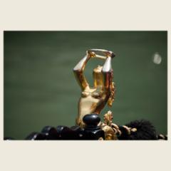 「空へ・・、ゴンドラの女神」 限定制作プリント(A4・額装) (エディションナンバー付き)