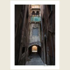 「ヴェネツィアの路地/Vicolo a Venezia」 ショップオープン企画!2Lプリントの2枚組! 4月25日まで、限定20組の販売。