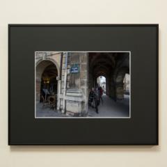 「ヴォージュ広場、パリ 3区。Place des Vosges #01」 限定制作プリント (A4・額装)(エディションナンバー付き)
