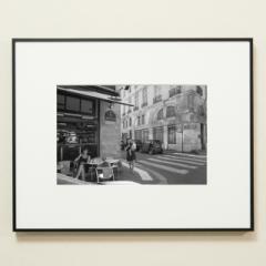 「シェルシェミディ通りの角で / Rue du Cherche-Midi」 限定制作プリント (A4・額装)(エディションナンバー付き)