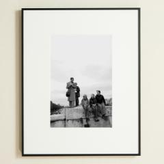 「コンコルド橋の観客/Pont De la Concorde」 限定制作プリント (A4・額装)(エディションナンバー付き)