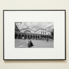 「パリ東駅/Gare de l'Est」 限定制作プリント (A4・額装)(エディションナンバー付き)