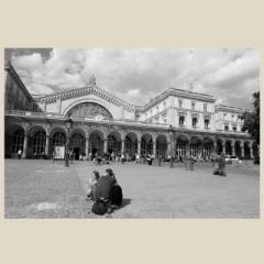 「パリ東駅/Gare de l'Est」 限定制作プリント (A4プリントのみ/額なし)(エディションナンバー付き)