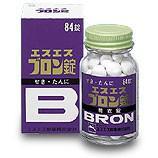【第(2)類医薬品】 エスエス ブロン錠 84錠 せき たんに 購入数制限ございます。