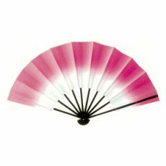 トロピカル演舞扇(ピンク) =よさこい用品 YOSAKOIソーラン よさこい祭り=