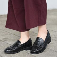 靴 レディース パンプス ローファー マニッシュ ラウンドトゥ コインローファー おしゃれ かわいい 黒 ブラック ブラウン NOFALL