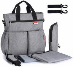 マザーズバッグ トートバッグ ショルダー バッグ 2WAY A4 大容量 軽量 保温ケース付き 多機能 収納 オムツ替えシート ベビーカーバッグ