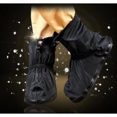 シューズカバー 防水 携帯可 ブーツ 雪 雨 梅雨対策 レインブーツ 防水 靴 通勤 通学にレインシューズ ブーツ 男女兼用