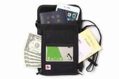 パスポートケース 首下げ スキミング防止 トラベルポーチ 旅行便利グッズ 旅行用 海外旅行 小物入れ 軽量 パスポート入れ
