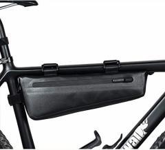 自転車 トップチューブバッグ フロントバッグ フレームバッグ サドルバッグ 防水 軽量 大容量 収納アクセサリー ブラック