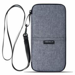 スキミング防止 パスポートケースパスポートバッグ 通帳ケース 航空券対応 軽量 防水 クラッチバッグ トラベルポーチ