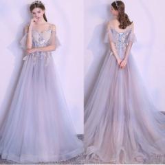 756dd52161a1b パーティードレス 結婚式 二次会 お呼ばれ ワンピース 袖あり お呼ばれドレス ドレス 20代 30代