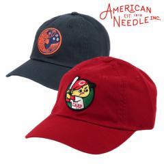 アメリカンニードル キャップ メンズ 帽子 広島東洋カープ AMERICAN NEEDLE 野球帽 6パネル ローキャップ カーブキャップ ブリムキャップ
