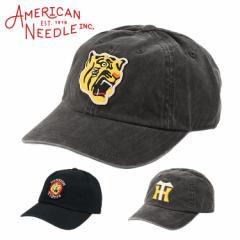 アメリカンニードル キャップ メンズ 帽子 阪神タイガース AMERICAN NEEDLE 野球 ビンテージ 6パネル ローキャップ