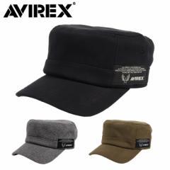 アビレックス ワークキャップ メンズ 帽子 AVIREX アヴィレックス AX SWEAT WORK CAP ミリタリーキャップ