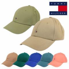 トミーヒルフィガー キャップ メンズ レディース 帽子 TOMMY HILFIGER COTTON TWILL WOVEN HAT FABRIC ブランド ロゴ 人気