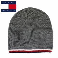 トミーヒルフィガー ニット帽 ニットキャップ フラッグロゴライン メンズ レディース TOMMY HILFIGER GLOBAL STRIPE EDGE REV BEANIE ブ