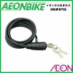 イオンバイク コイルロックブラックφ6X1800mm