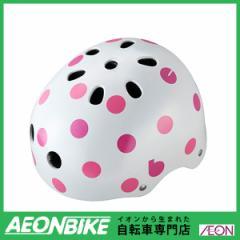 ブリヂストン (BRIDGESTONE) ビッケ ジュニアヘルメット CHBH5157 ドットピンク 51-57cm B371582WP1 ヘルメット