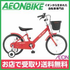 子供用 自転車 幼児車 キッズショウE レッド 変速なし 16型 お店受取り限定
