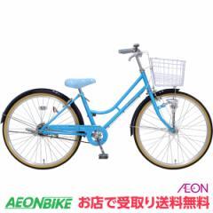 お得なクーポン配布中!子供用 自転車 デ・アンジェリス LEDオートライト E ブルー 変速なし 22型 お店受取り限定