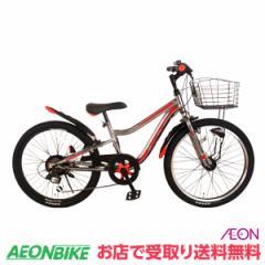 お得なクーポン配布中!子供用 自転車 ストリングス LEDオートライト A レッド 外装6段変速 20型 お店受取り限定