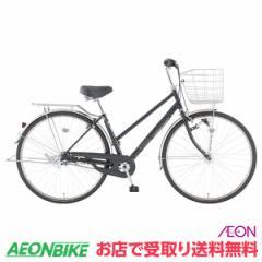 トップバリュ (TOPVALU) LEDオートライト付きベーシック自転車 シティータイプB ブラック 内装3段変速 26型 通勤 通学 自転車