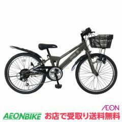 クーポン配布中!ジープ (JEEP) JE-22S OLIVE 外装6段変速 22型 子供用自転車  お店受取り限定