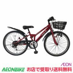 クーポン配布中!ジープ (JEEP) JE-22S RED 外装6段変速 22型 子供用自転車  お店受取り限定